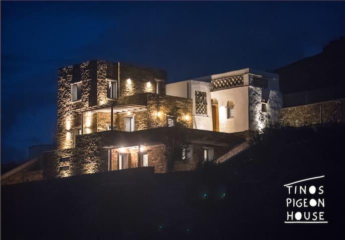 Tinos  Pigeon House - ''pigeon nest''