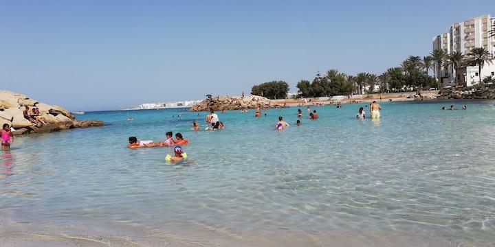 Séjour agréable à Mahdia, Tunisie