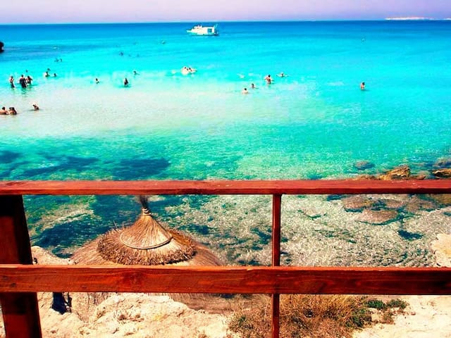 SEA VIEW HOUSE IN SALENTO! ;) - Posto Rosso - Marina di Alliste - 別墅