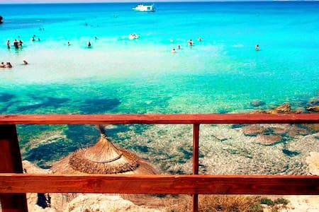 SEA VIEW HOUSE IN SALENTO! ;) - Posto Rosso - Marina di Alliste