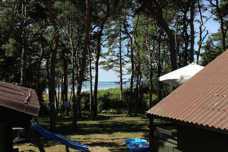 Summerhouse directly by the sea - Holbæk - キャビン
