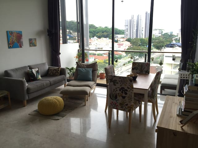 Cozy loft-like appartment with amazing facilities - Singapur - Loft