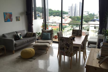 Cozy loft-like appartment with amazing facilities - Singapore - Loft