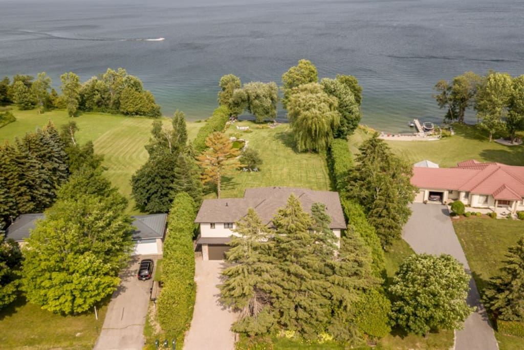 Giverny On Lake Simcoe Cottages For Rent In Orillia