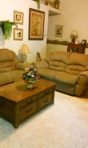 comfy newer area close to town. - Montrose - Casa