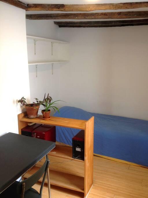 La chambre et le lit