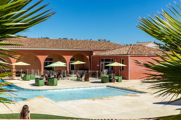 Villa 4 personnes entre Nimes et Montpellier - Saint-Christol - Villa