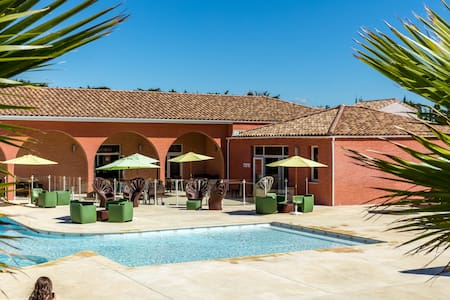 Villa 4 personnes proche Méditerrané - Saint-Christol