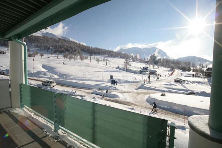 Nice apartment in the Sestriere Olympic Village