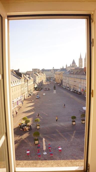 Vue sur centre historique