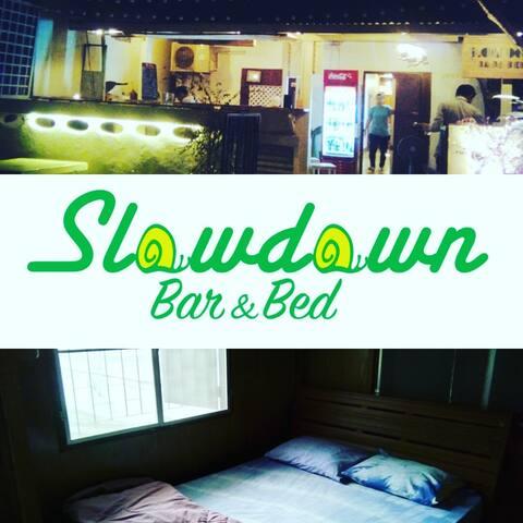 slowdown bar&bed - Tambon Chiang Khan - Dům
