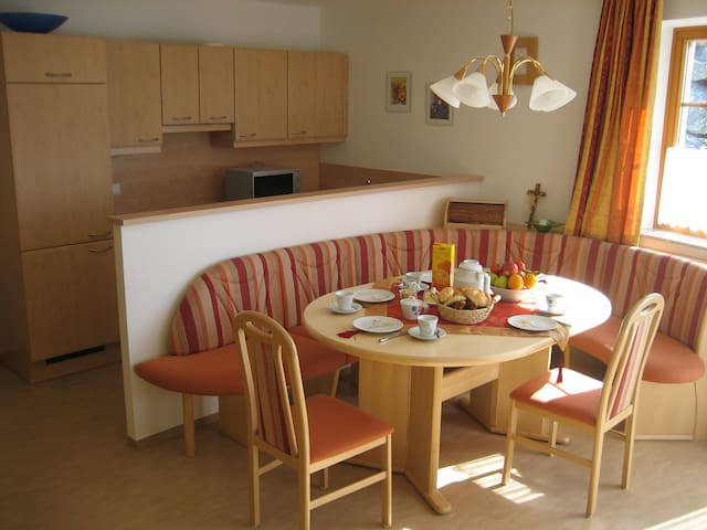 Appartement in Pistennähe
