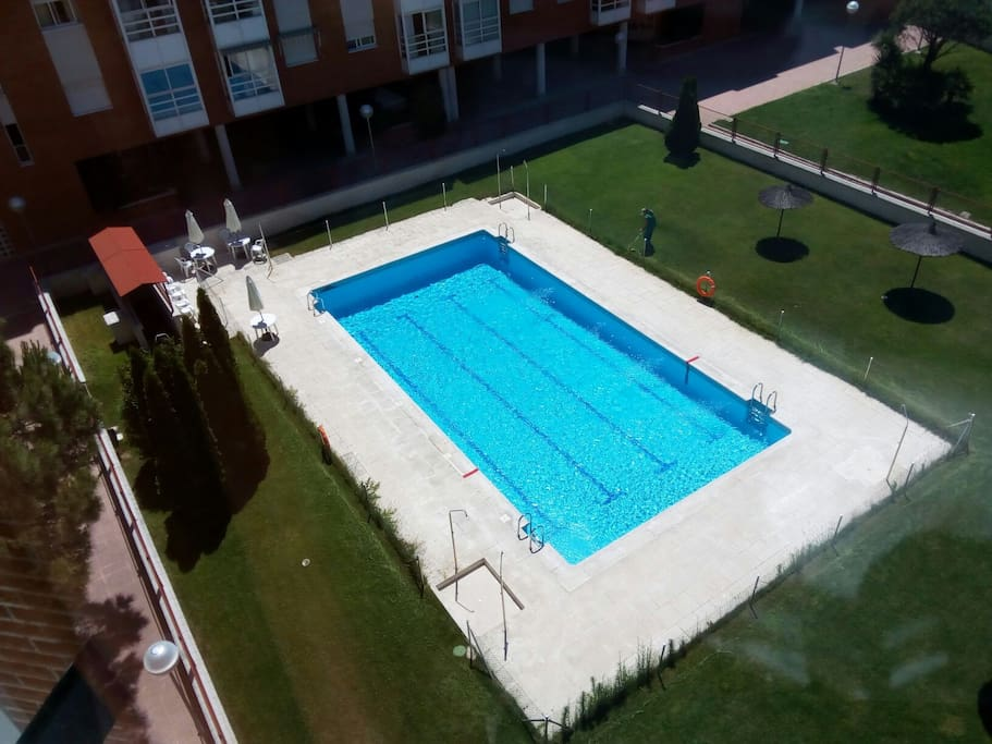 Swimming pool open June 10th - August 30th