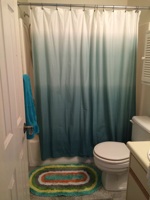 second bedroom has attached bathroom