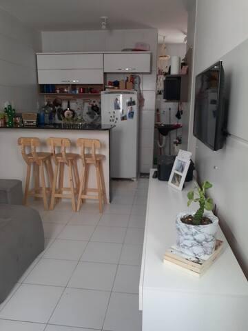 Apartamento Em João Pessoa. Um verdadeiro cafofo