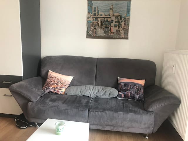 1 room apartment for Globetrotter near city