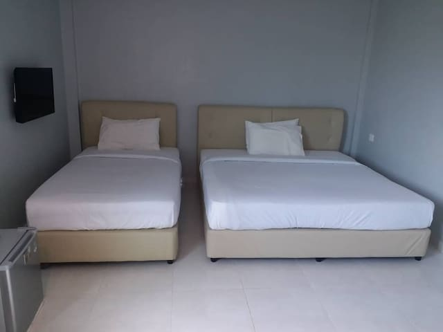 Dlima Beach Inn Langkawi-Triple Room 3-Pax