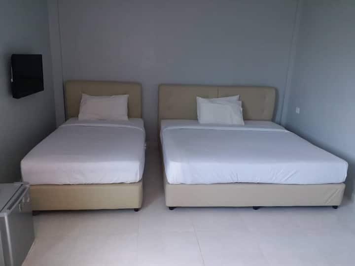 Dlima Beach Inn Langkawi-Triple Room 3-Pax