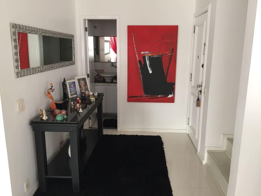 entrada sala de estar