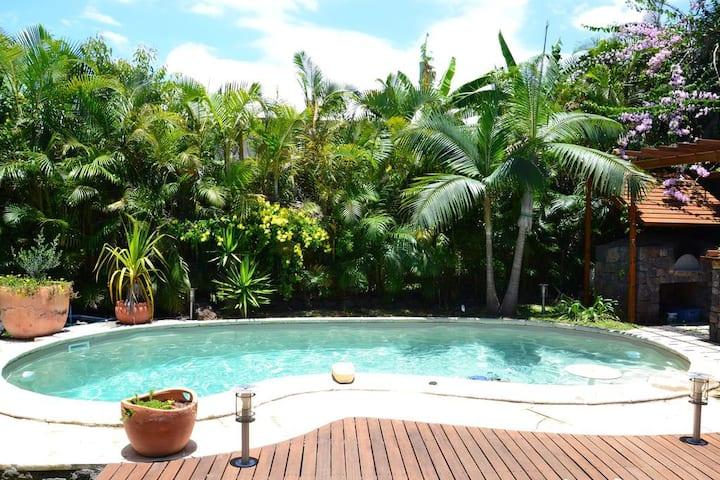 Calme  repos et découverte de  la Réunion