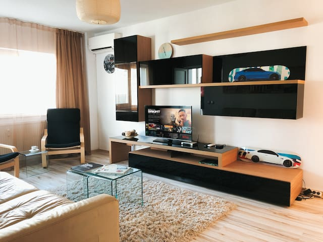 New Aviatiei Flat Near Park with Netflix included