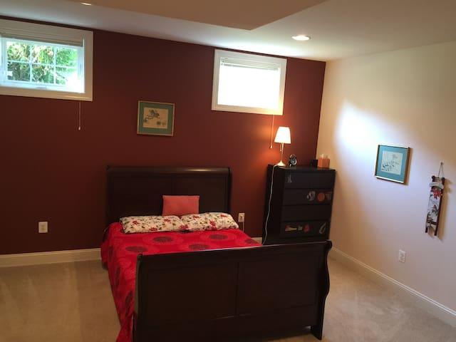 Private cozy room in Oakton - Oakton - Huis
