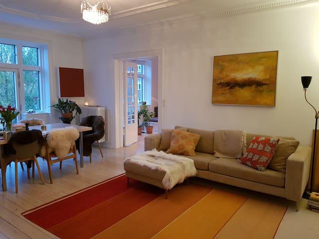 Beautiful flat close to Copenhagen Center.
