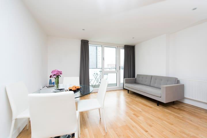 Modern 1BR Flat in East London
