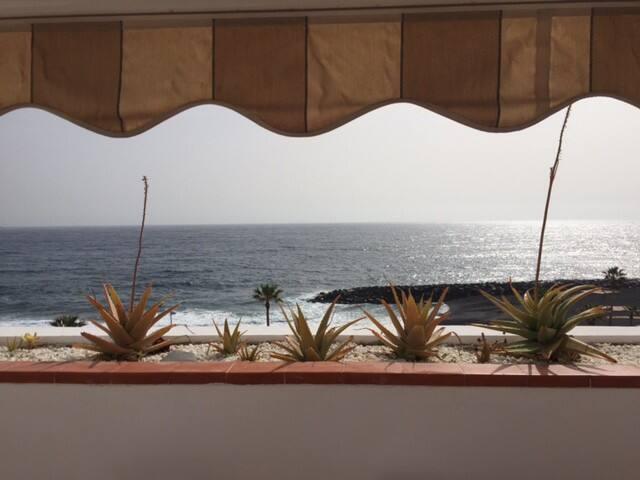 Encantador apartamento junto al mar-Wifi-Garaje