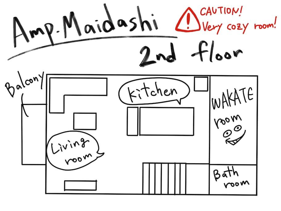 Floormap 2F