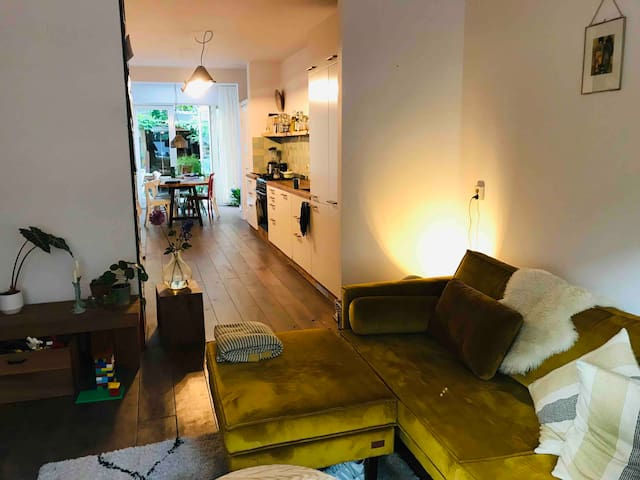 City apartment with summergarden