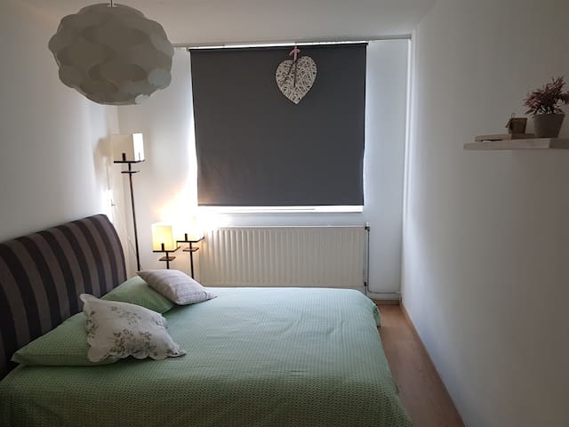 Pleasant bedroom close to the ArenA Ajax