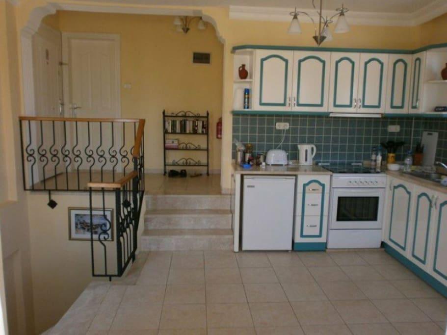 Entrance and Kitchen/diner