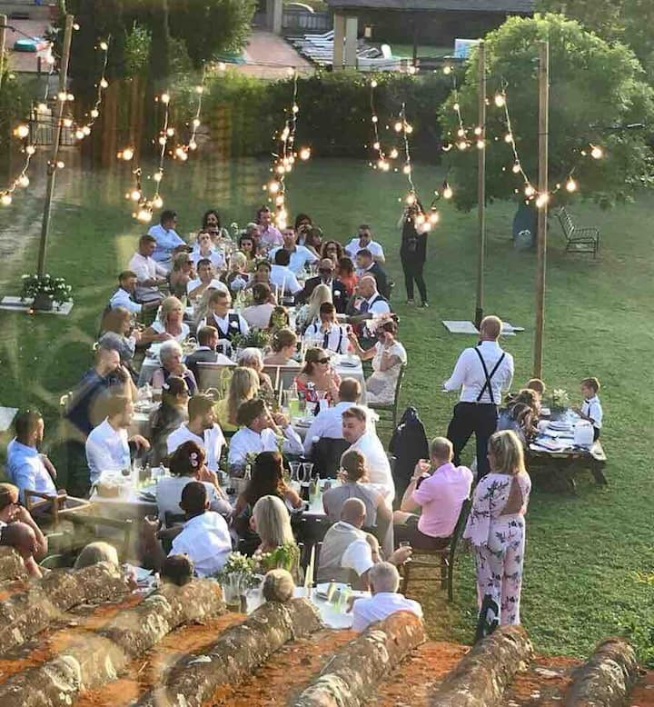 Wedding under the Tuscan sun