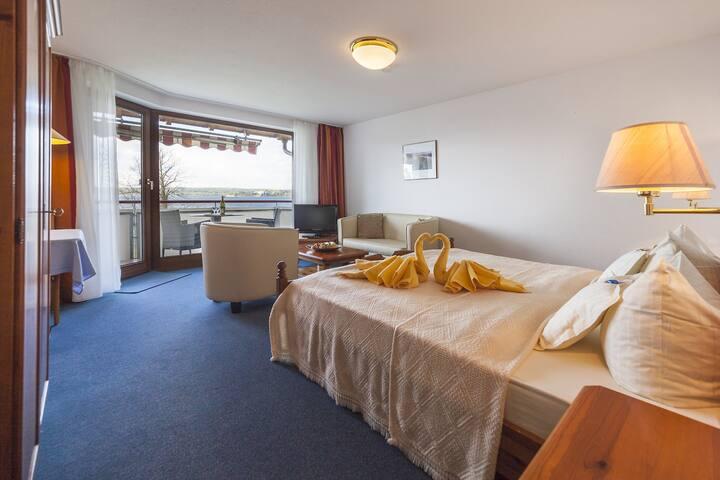 Hotel Seepark Appartements - Hotel Garni (Uhldingen-Mühlhofen), Doppelzimmer/Studio