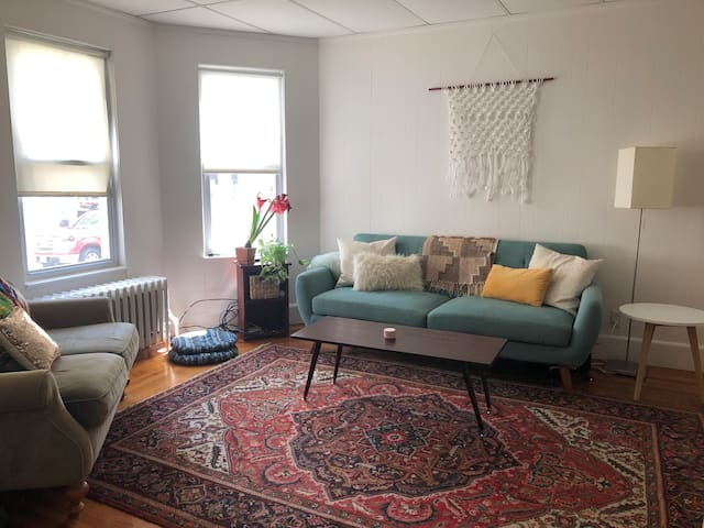 Lovely Guest Room in Somerville Home (Near Tufts)