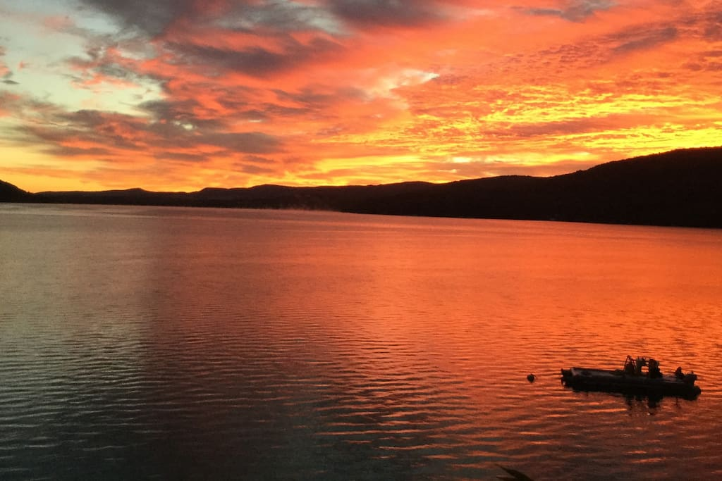 Otsego Lake Sunrise!