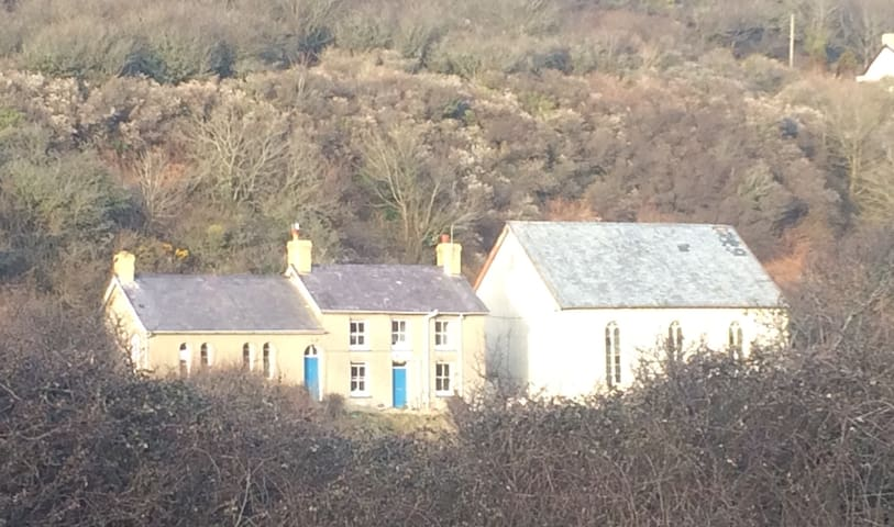 Peaceful suntrap 5 minutes from the beach - Llangrannog - House