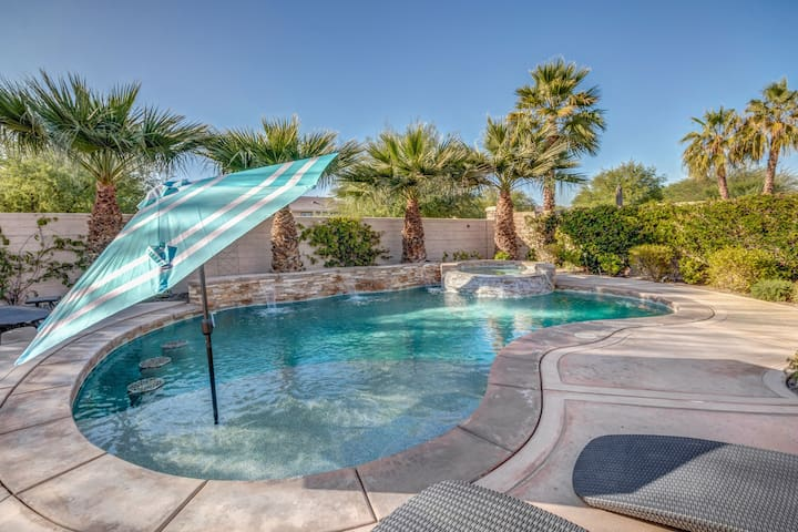 Luxury Oasis w/ saltwater pool/spa near Coachella.