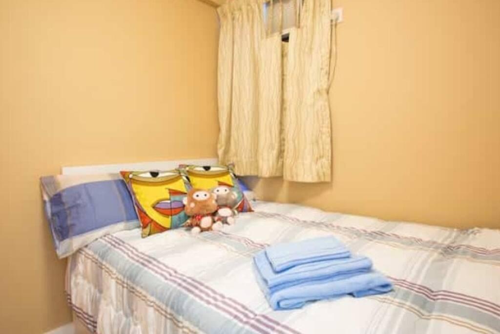 Twin Bedroom.舒适的双人房。