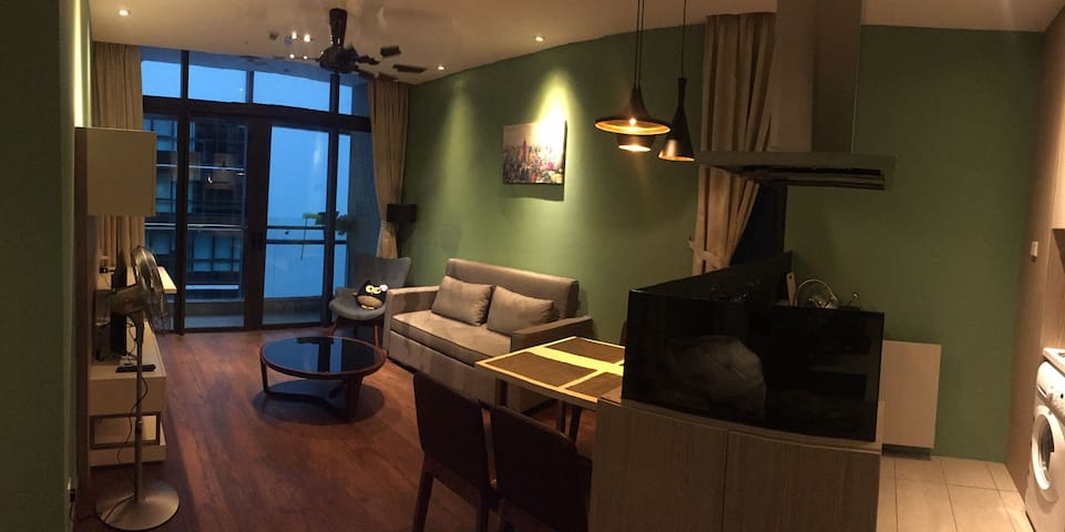 [Owlet 2] 【2BR。CITY。IMAGOMALL。WATERFRONT】+WIFI
