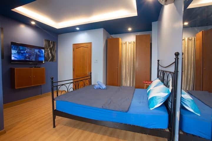 Clean room in Chloe Modern House.