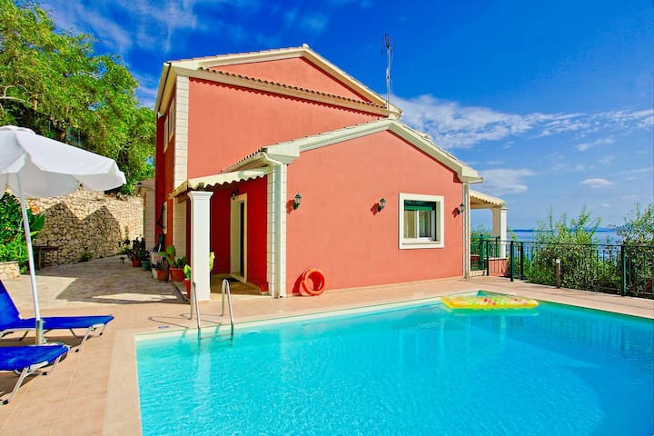 Villa Leana Nissaki - Seaside Villa Rental in Corfu, Greece