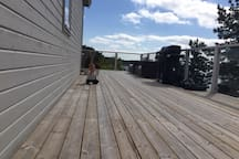 Kids on the deck