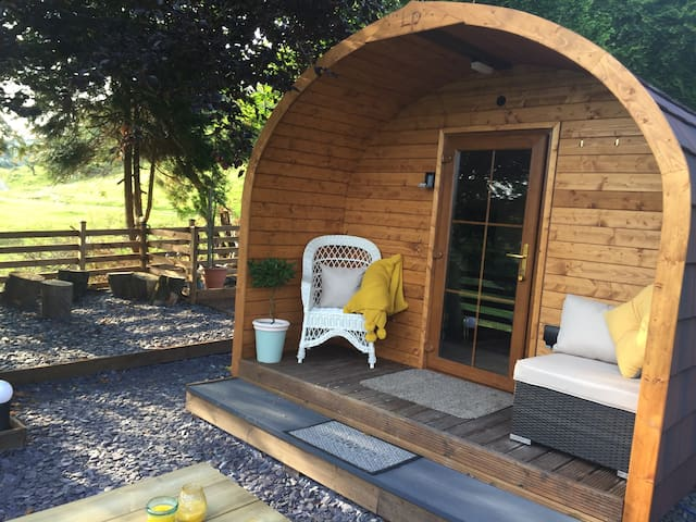 GlampingSnowdonia-PoshPod-secluded piece of heaven