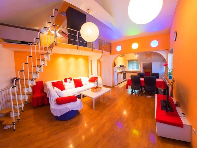 Penthouse Orešković, Dubrava, Zagreb - Zagreb - Apartemen