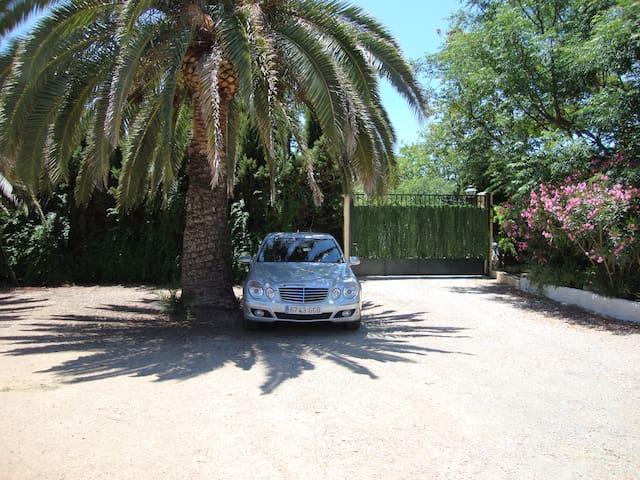Casa piscina barbacoa arboles frutales leña sombra - Mollina - House