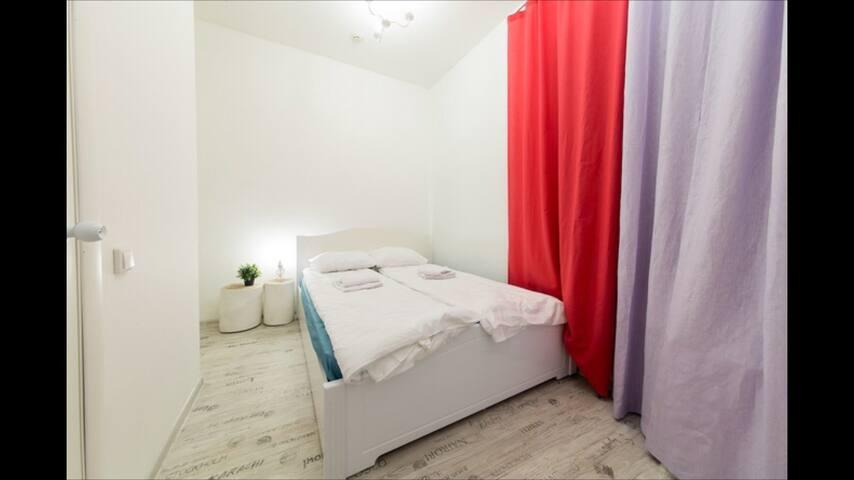 Двухместная комната с санузлом. - Москва - Rumah