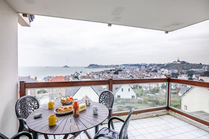 La Lagune - Appartement vue mer Pléneuf-Val-André