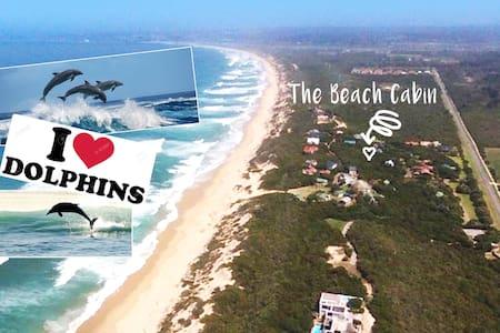 The Beach Cabin - 2 mins walk to beach, with WIFI